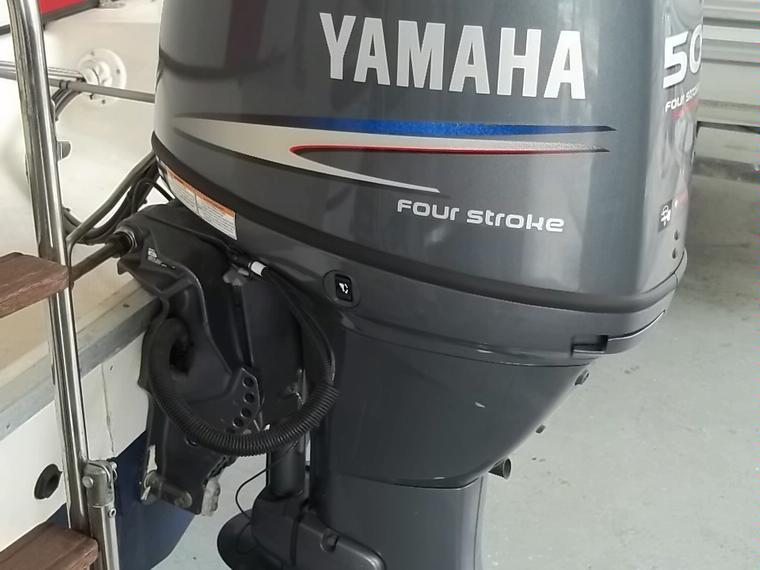 motor yamaha 50cv  4t