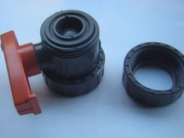 Plasson d-25-DN20-PN16 válvula de bola de PVC. Áno gira! Moteurs