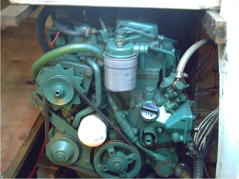 motor volvo penta 28 cv de seconde main 49514