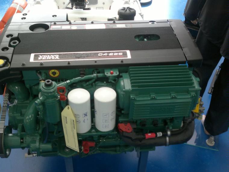motor volvo penta d4 225cv