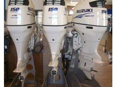 2017 Used Suzuki 150HP 4-Stroke Outboard Motor Engine Moteurs