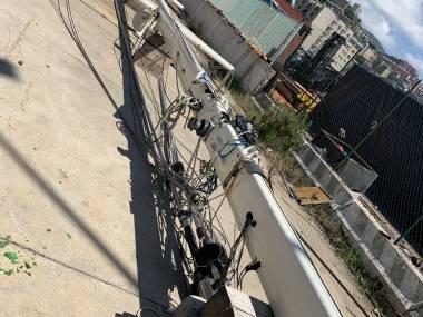Albero alluminio 23 mt Eq. du pont