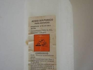 Varta batería ácido sulfúrico líquido Moteurs