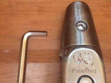 Grillete giratorio para ancla. Cadena de 12-14mm Eq. du pont