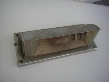Lámpara vieja de la cama de la pared del latón-cromo, longitud approx 200 mm Électricité