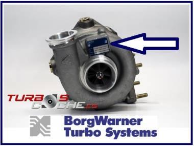 Turbo NUEVO original 53269886292 KKK-Borgwarner K26 para Yanmar 4LH-DTE + juntas Autres