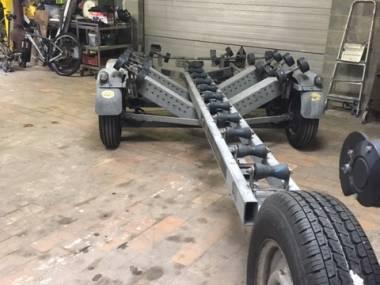 remorque 2 essieux charge max 2150 kg Remorques