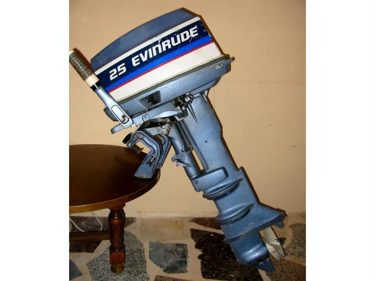 motor fuera borda evinrude 25 cv  d u0026 39 ocassion 52665