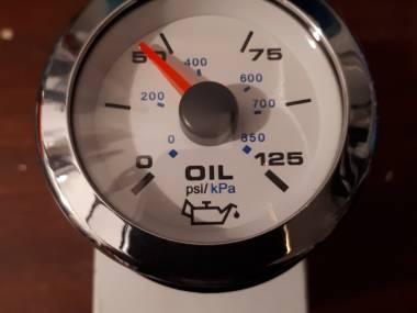 Reloj presión de aceite Électronique
