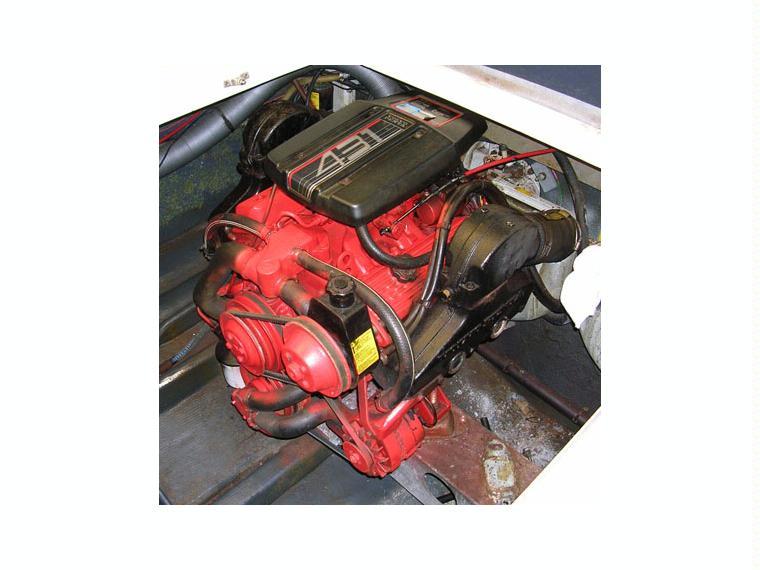 vendo motor volvo penta 4 3 6c  205 cv con cola sx de