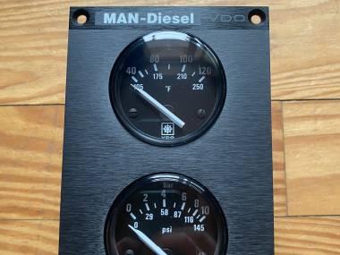 Anzeigegerät für Kühlwassertemperatur und Öldruck Autres
