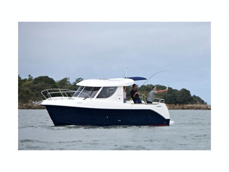 Quicksilver Captur 810 Arvor Bateau de pêche/promenade