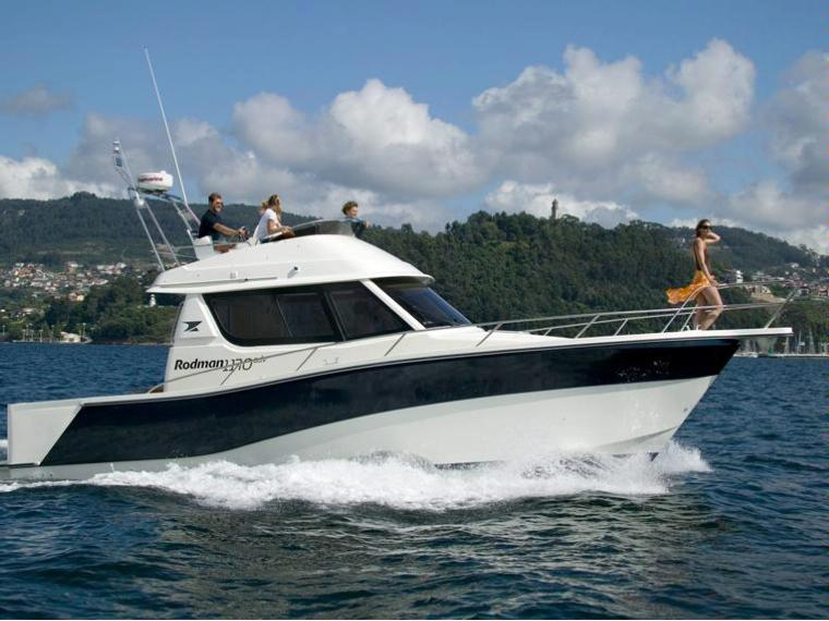 Rodman 1170 Fish&Cruiser Bateau de pêche/promenade