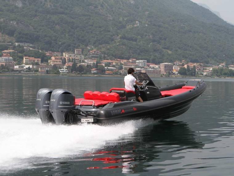 Lomac Adrenalina 9.0 FB Bateau semi-rigide