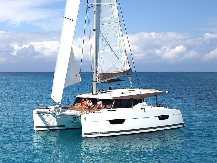 Fountaine Pajot Lucia 40 Catamaran à voile