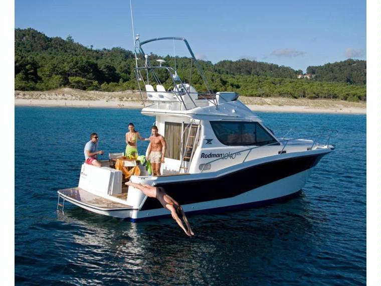 Rodman 1040 Fisher&Cruiser Bateau de pêche/promenade