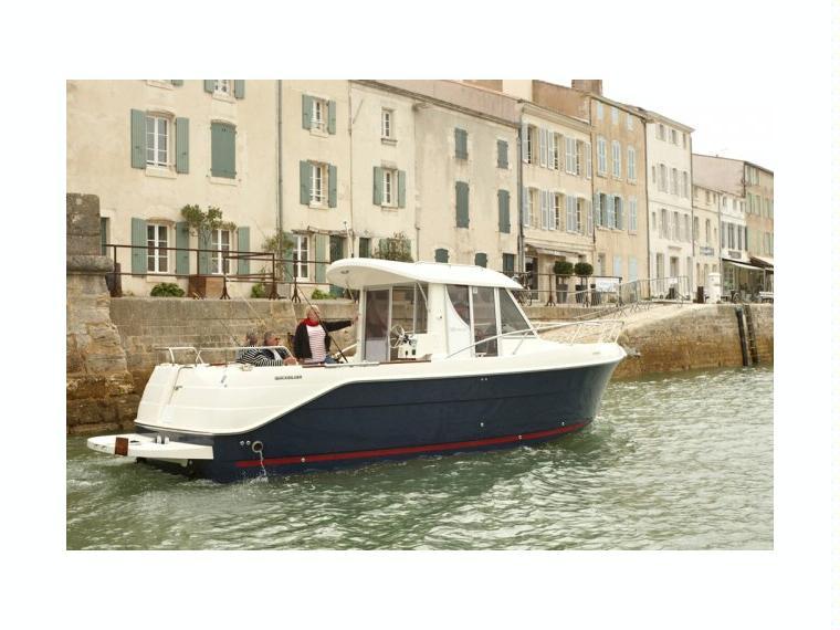 Quicksilver Captur 280 Arvor Bateau de pêche/promenade