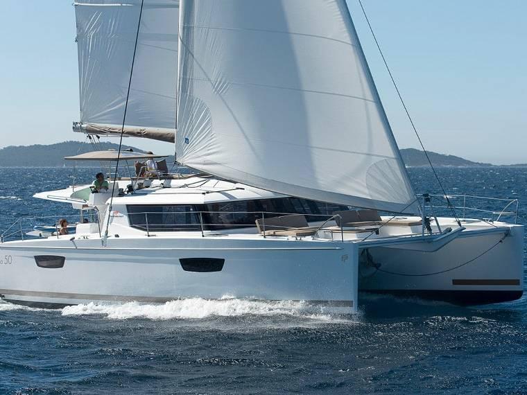 Fountaine Pajot Saba 50 Catamaran à voile