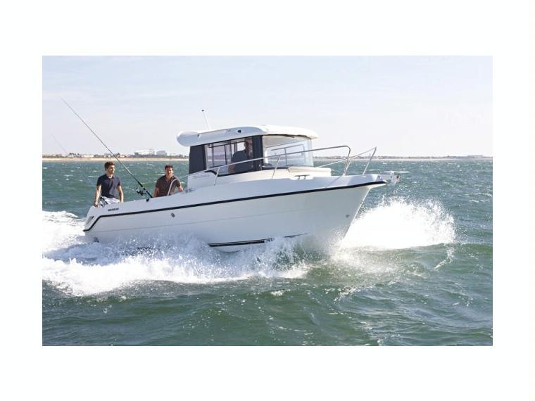 Quicksilver Captur 730 Arvor Bateau de pêche/promenade