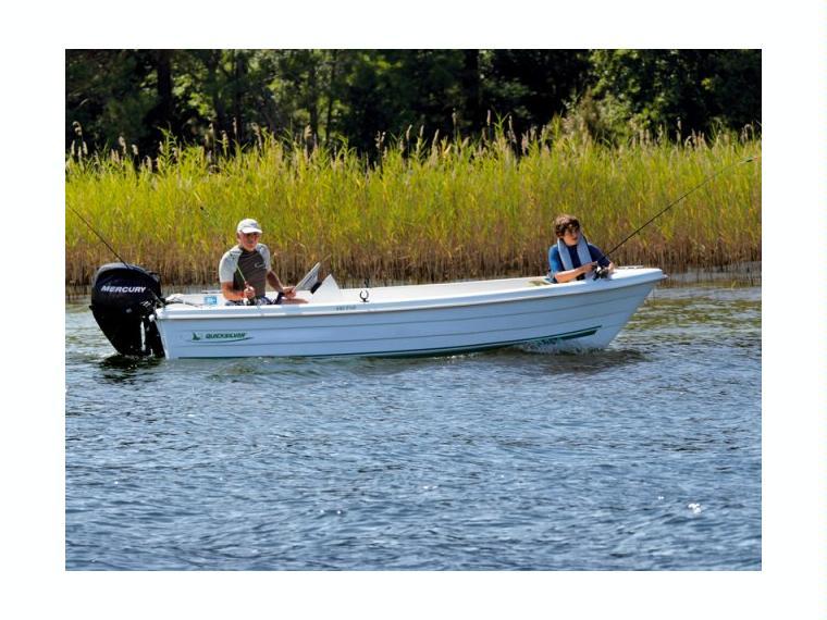 Quicksilver Captur 440 Fish Bateau de pêche/promenade