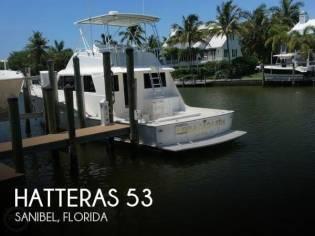 Hatteras 53 Convertible