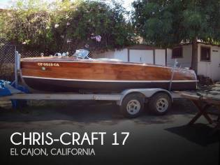 Chris-Craft 17 Deluxe Runabaout