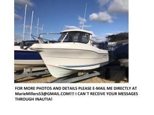 QUICKSILVER 640 PILOTHOUSE FISHING BOAT