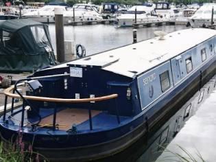 Wide Beam Narrowboat Aqualine Canterbury LE 65 x 1