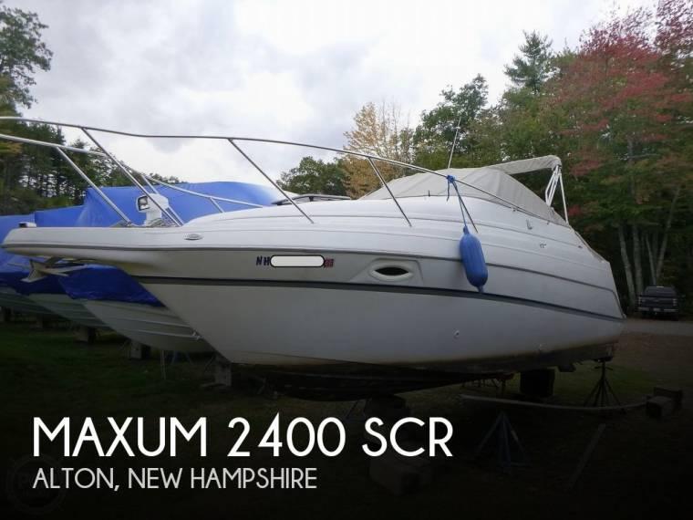 Maxum 2400 SCR