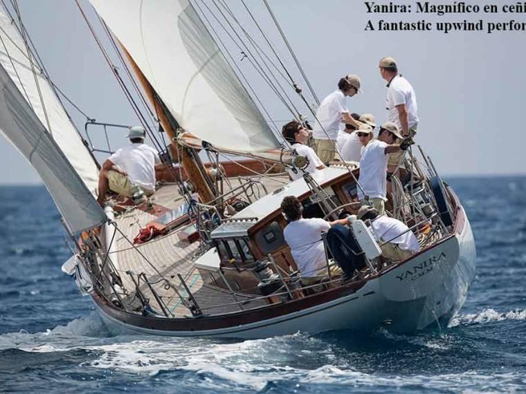 Yanira clásico cutter de crucero y regata