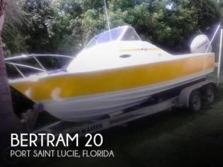 Bertram 20 Bahia Mar