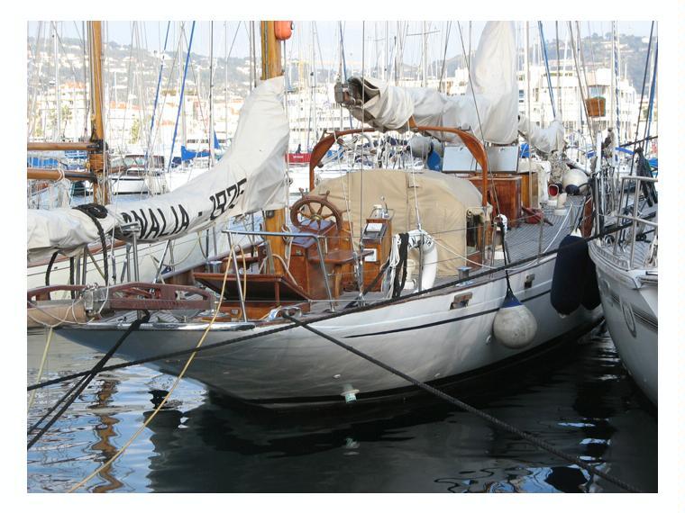 Berthon Shipyard Mylne Design Classic Marconi Yawl En Majorque Yacht Voile D 39 Occasion 66555