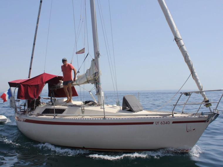 beneteau first 30 en barcelone
