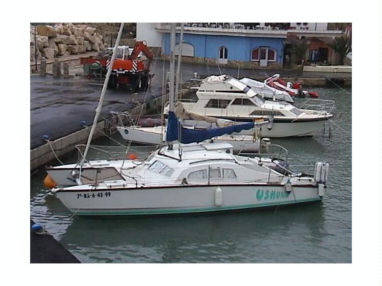 Iroquois en cn de calpe catamarans voile d 39 occasion for Cid special bureau episode 13