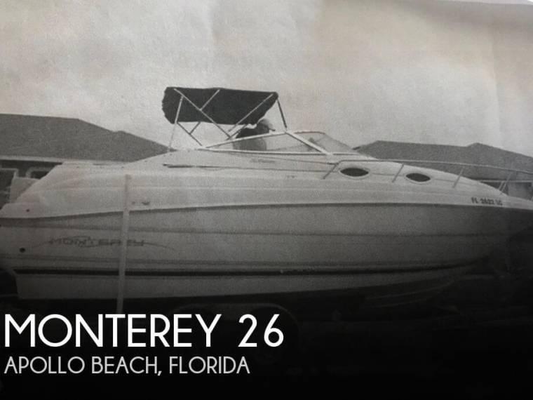Monterey 262 Cruiser