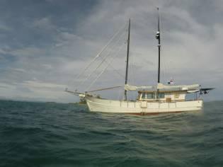 24M wooden schooner