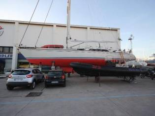 Baltic Yachts 64 centerboard