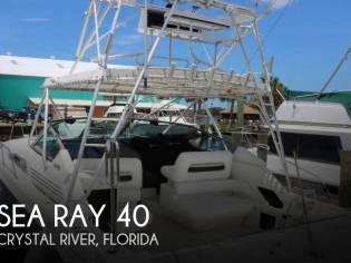 Sea Ray 400express cruiser