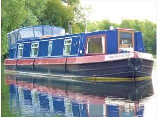 Wide Beam Narrowboat Stenson Sapphire 50 x 10