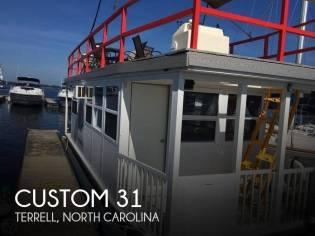 Custom 31FT 4-Pontoon Houseboat