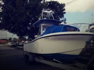 Dusky Marine 278 Open Fisherman