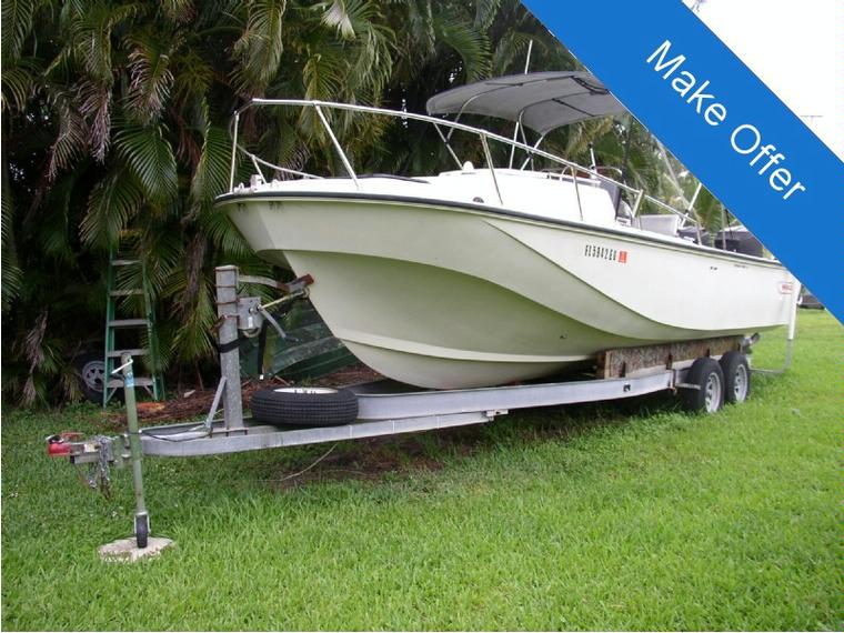 boston whaler 25 outrage cuddy en florida