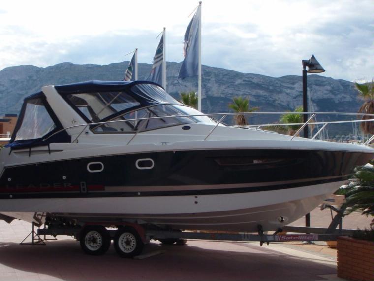 jeanneau leader 8 azur en alicante bateaux moteur d. Black Bedroom Furniture Sets. Home Design Ideas