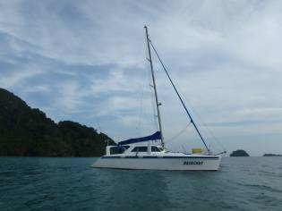Crowther Sailing catamaran