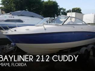 Bayliner 212 Cuddy