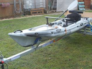kayak abaco hi luxe avec remorque