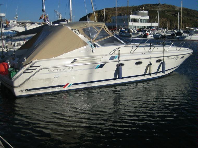 Cranchi mediterranee 40 en marina d emp riabrava bateaux - Place de port disponible mediterranee ...