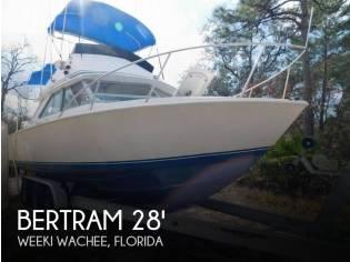 Bertram 28 Sport Fisherman