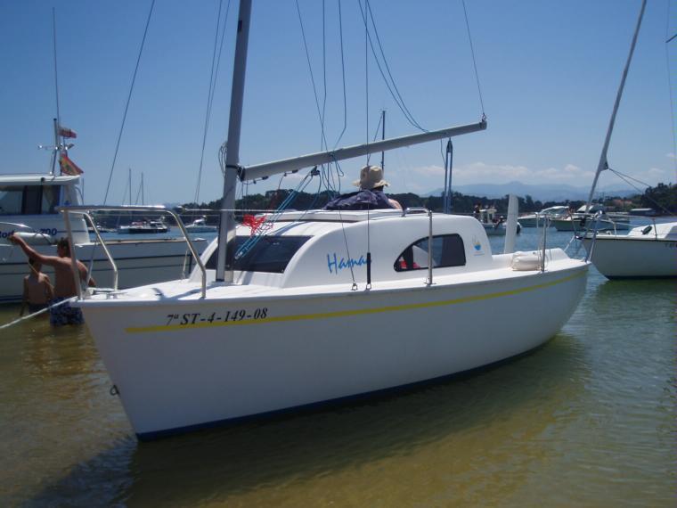 hamac en marina de santander
