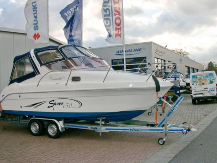 saver boats 650 cabin en allemagne bateaux moteur d 39 occasion 54529 inautia. Black Bedroom Furniture Sets. Home Design Ideas